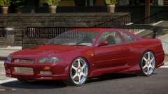 Nissan Skyline GT-R34 RS para GTA 4