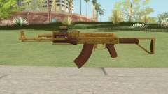 Assault Rifle GTA V (Two Attachments V3) para GTA San Andreas
