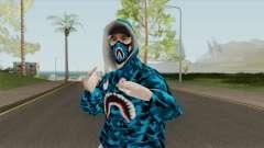 Flow Bape Skin para GTA San Andreas