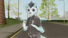 Furry Skin (Police) para GTA San Andreas