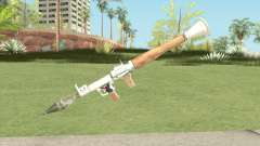 Rocket Launcher (White) para GTA San Andreas
