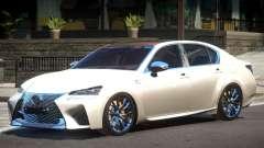 Lexus GS-F Elite para GTA 4