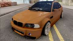 BMW 3-er E46 2000 Stance by Hazzard Garage v2 para GTA San Andreas