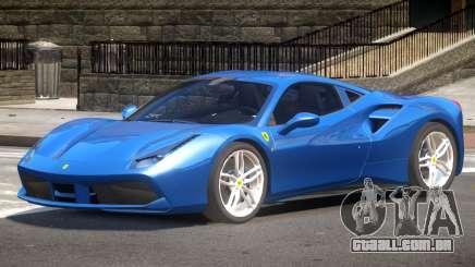 Ferrari 488 GTS V1.0 para GTA 4