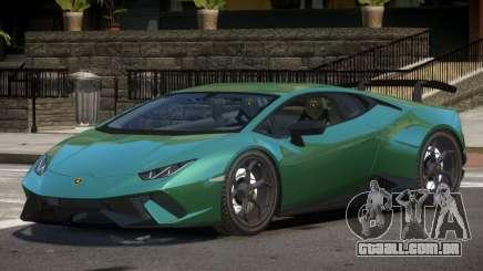 Lamborghini Huracan RS para GTA 4