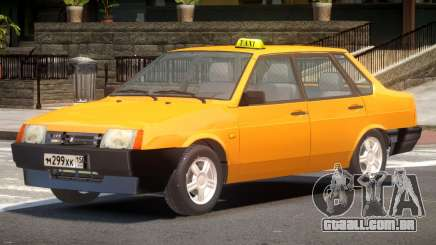 VAZ 21099 Taxi V1.0 para GTA 4