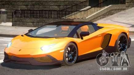Lamborghini Aventador STR para GTA 4