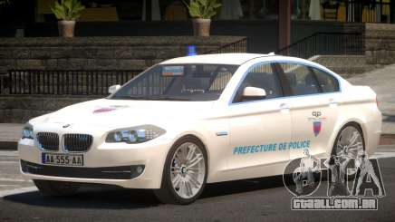 BMW M5 F10 Government para GTA 4