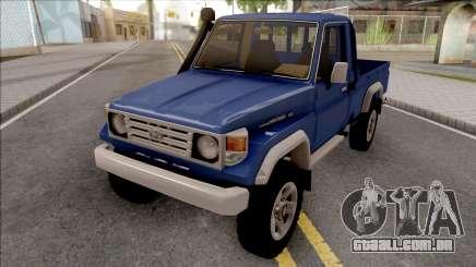 Toyota Land Cruiser J70 Hembra para GTA San Andreas