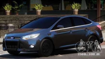Ford Focus FBI para GTA 4