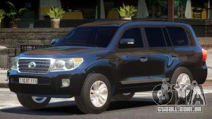 Toyota Land Cruiser 200 ST para GTA 4