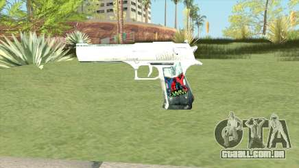 Desert Eagle (White) para GTA San Andreas