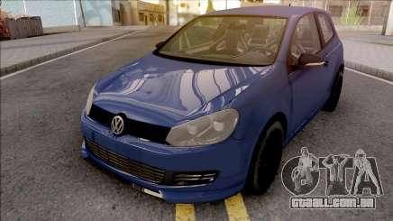 Volkswagen Golf 6 Auto Skola Team para GTA San Andreas