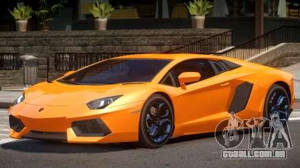 Lamborghini Aventador RS para GTA 4