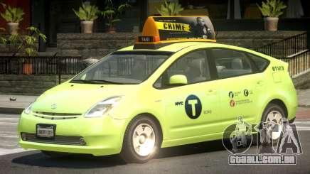 Toyota Prius 2 Taxi V1.3 para GTA 4