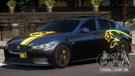 Jaguar XE Sport PJ2 para GTA 4