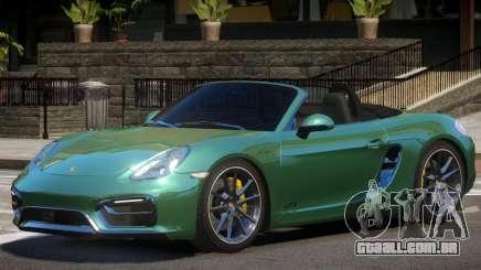 Porsche Boxster Custom para GTA 4