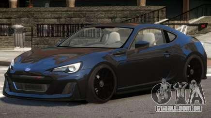 Subaru BRZ GTS para GTA 4