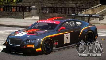 Bentley Continental GTS PJ1 para GTA 4