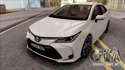 Toyota Corolla Hybrid 2020 para GTA San Andreas