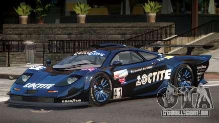 McLaren F1 GTR PJ3 para GTA 4