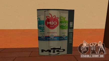 Mio Russia Vending Machine para GTA San Andreas