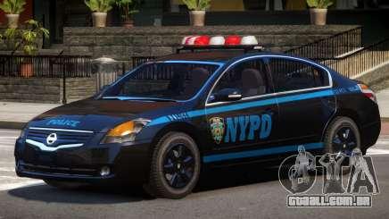 Nissan Altima Police V1.0 para GTA 4