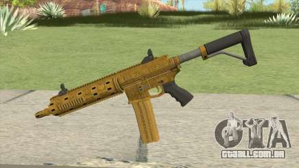 Carbine Rifle GTA V (Luxury Finish) Base V3 para GTA San Andreas