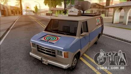 News Van ABS CBN para GTA San Andreas