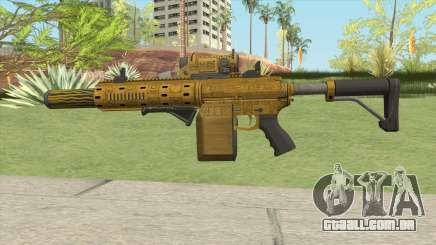 Carbine Rifle GTA V (Luxury Finish) Full V1 para GTA San Andreas