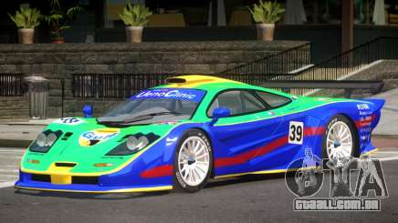 McLaren F1 GTR Le Mans Edition PJ3 para GTA 4