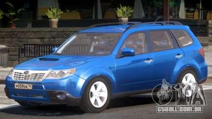 Subaru Forester Improved para GTA 4