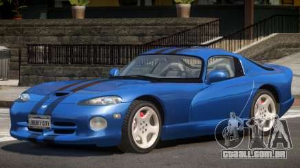 Dodge Viper GT Sport V1.1 para GTA 4