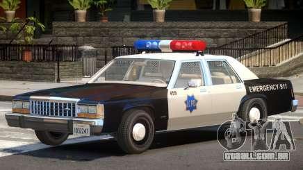 1987 Ford Crown Victoria Police V1.0 para GTA 4