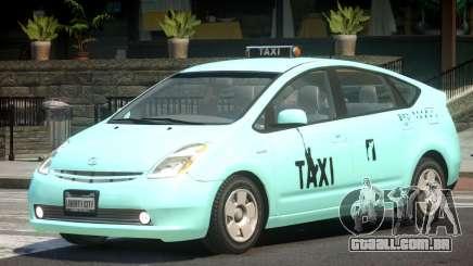 Toyota Prius 2 Taxi V1.2 para GTA 4