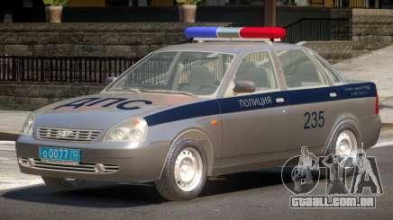 Lada Priora Police V1.0 para GTA 4