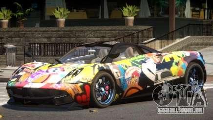 Pagani Huayra GT V1.0 PJ para GTA 4