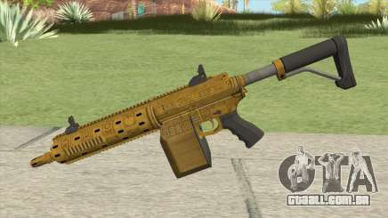 Carbine Rifle GTA V (Luxury Finish) Base V1 para GTA San Andreas