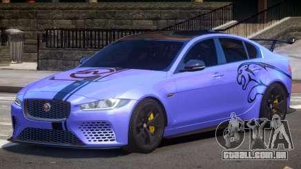 Jaguar XE Sport PJ1 para GTA 4