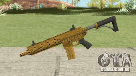 Carbine Rifle GTA V (Luxury Finish) Base V2 para GTA San Andreas