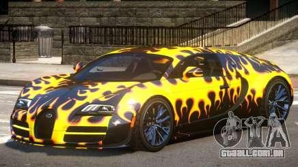 Bugatti Veyron 16.4 GT PJ3 para GTA 4