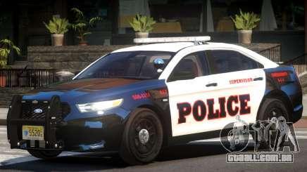 Ford Taurus Police V1.0 para GTA 4