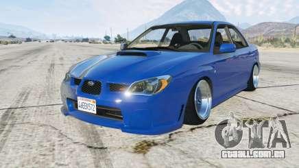 Subaru Impreza WRX STi (GDB) 2006 para GTA 5