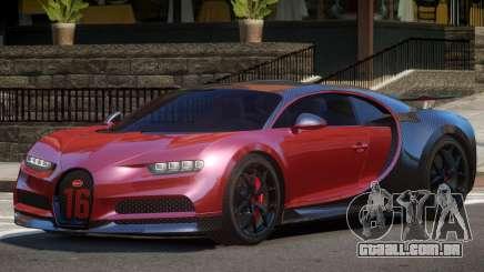 Bugatti Chiron Sport Carbon para GTA 4
