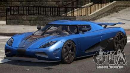 Koenigsegg Agera R Sport para GTA 4