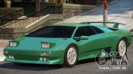 1990 Lamborghini Diablo V1.3 para GTA 4