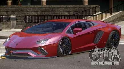 Lambo Aventador GT para GTA 4