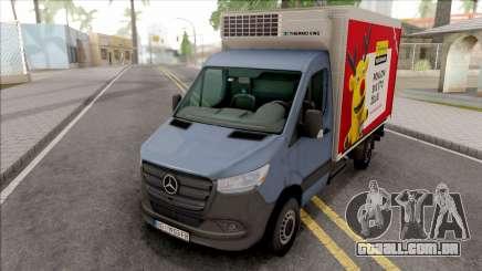 Mercedes-Benz Sprinter 2019 Box Transporter para GTA San Andreas