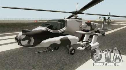 New Hunter Helicopter para GTA San Andreas