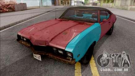 Oldsmobile Cutlass 1968 v2 para GTA San Andreas